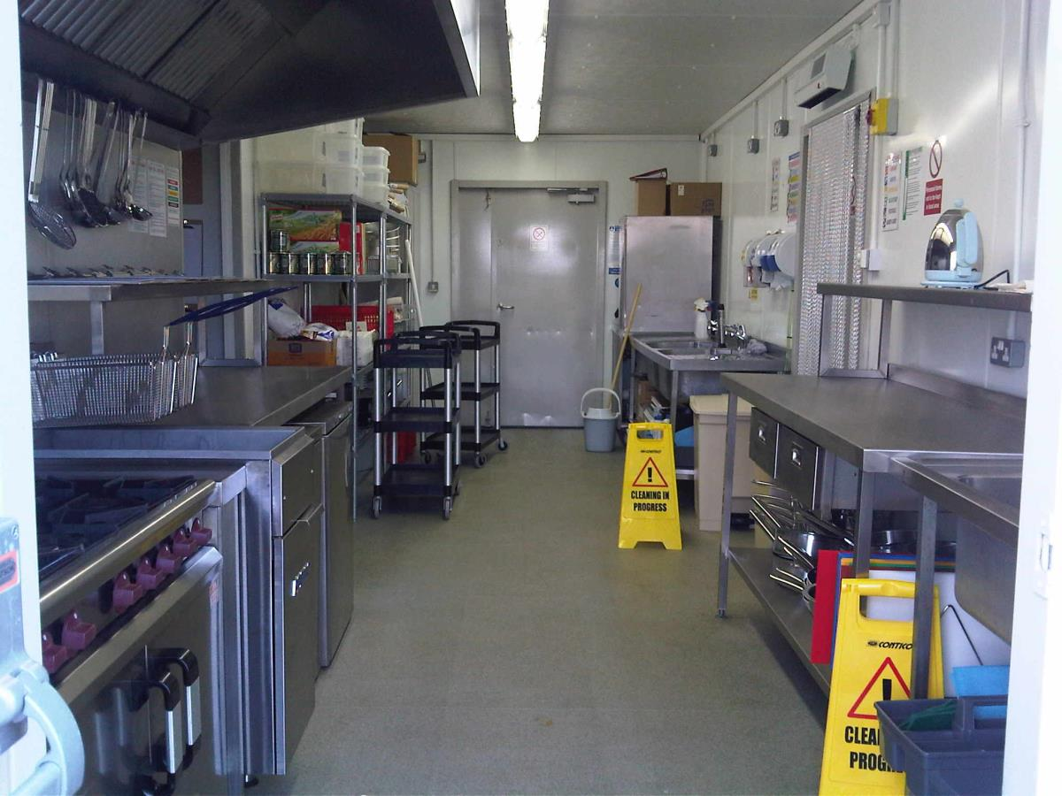 Hotel chain training kitchen facility for budding chefs.