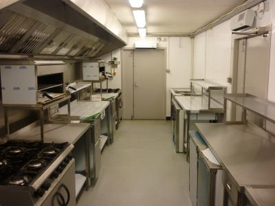 Out all-in-one emergency kitchen equipped to your requirements